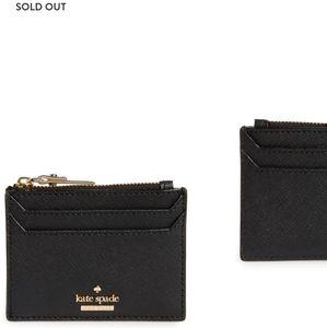 Kate Spade Cameron St. Lalena leather card case
